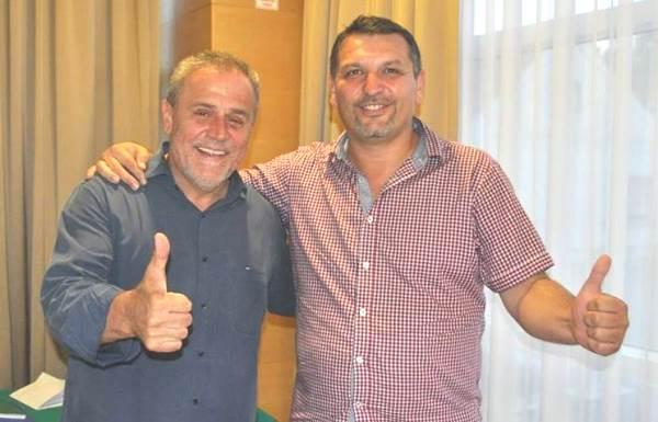 Milan Bandić i Željko Lacković