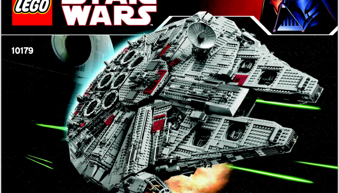 Lego star wars millenium falcon set