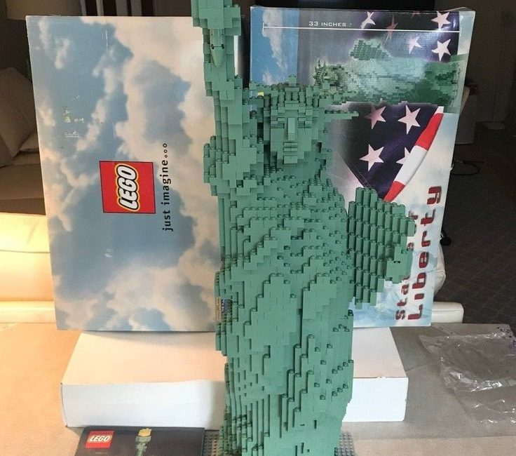 Lego statue of liberty set