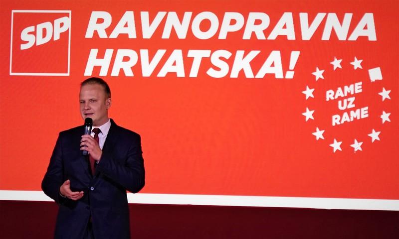 Mišel Jakšić, gradonačelnik SDP-a
