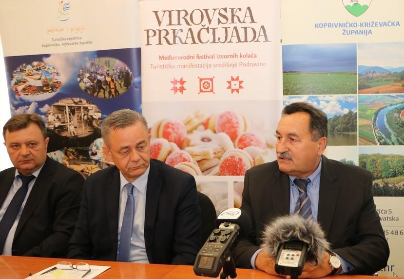 Župan Darko Koren i načelnik Virja Mirko Perok