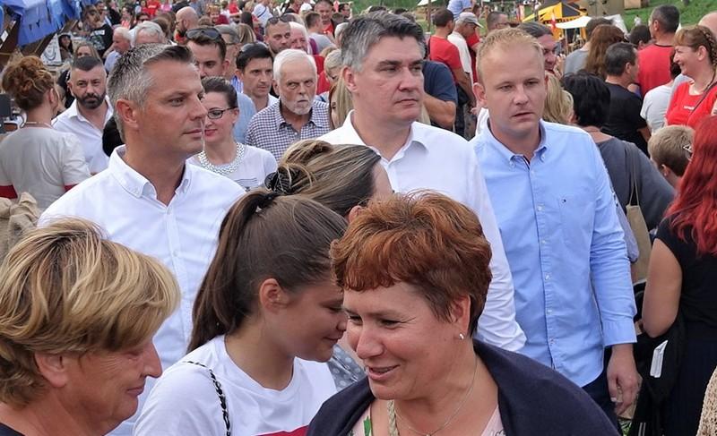 Zoran Milanović na Renesansnom festivalu u Koprivnici