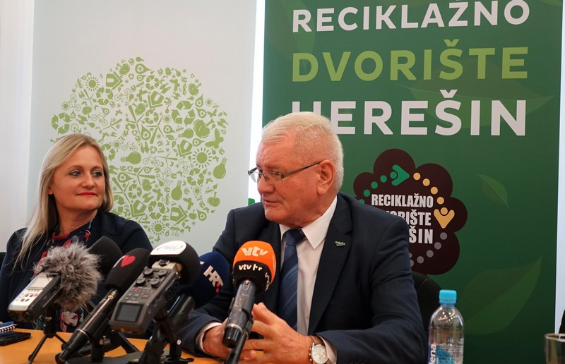 Članica uprave Komunalca Dubravka Horvat i vlasnik međimurskog Tehnixa Đuro Horvat