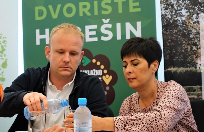 Gradonačelnik Mišel Jakšić i predsjednica uprave Komunalca Nataša Tetec