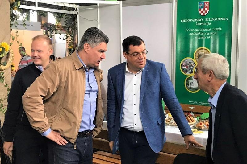 Mišel Jakšić, Zoran Milanović i Damir Bajs