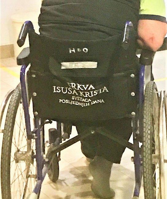 Kolica za pacijente na Hitnom bolničkom odjelu u Koprivnici