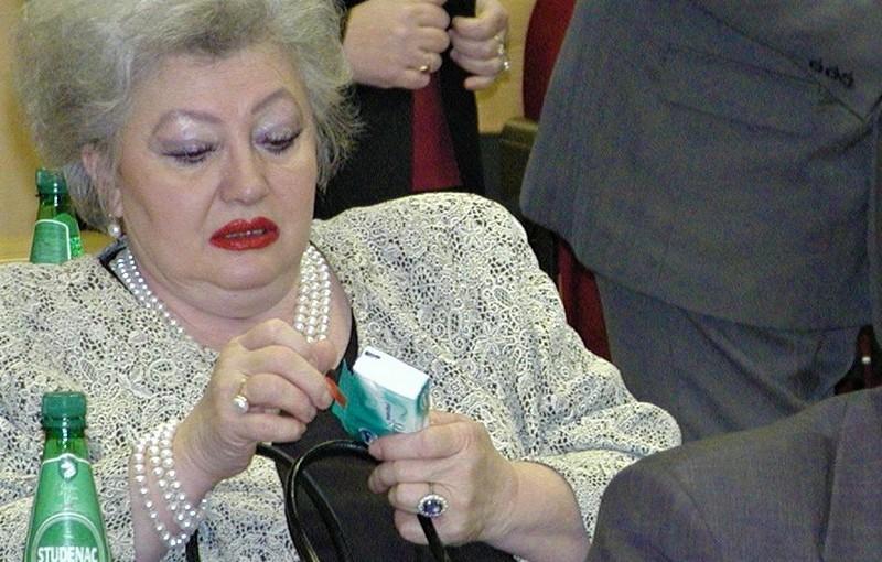 Mara Bareza - ne zna se gdje je nakit niti tko ga je ukrao iz njezine vile u Koprivnici