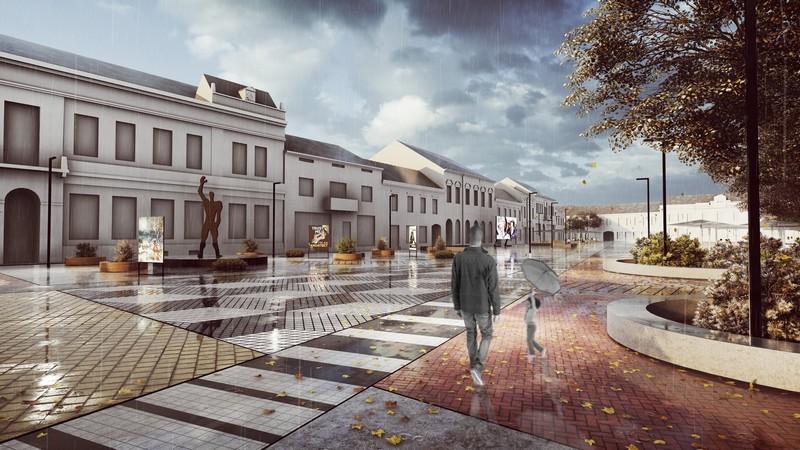 Idejno rješenje budućeg izgleda Zrinskog trga u Koprivnici
