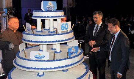 Velika torta za 60 godina Vegete - tortu rezali premijer Andrej Plenković i šef Sabora Gordan Jandroković