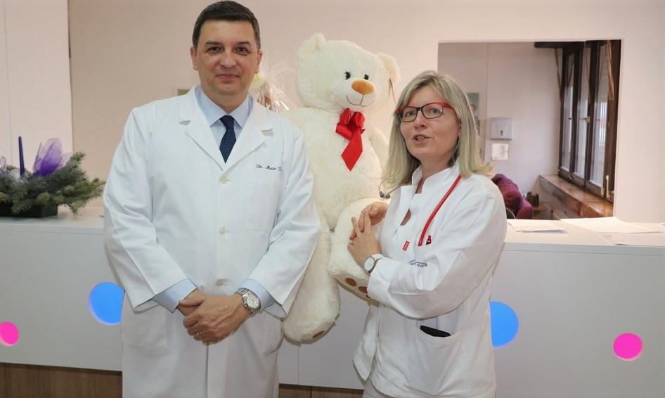 Dr. Mato Devčić i dr. Maja Toth Mršić