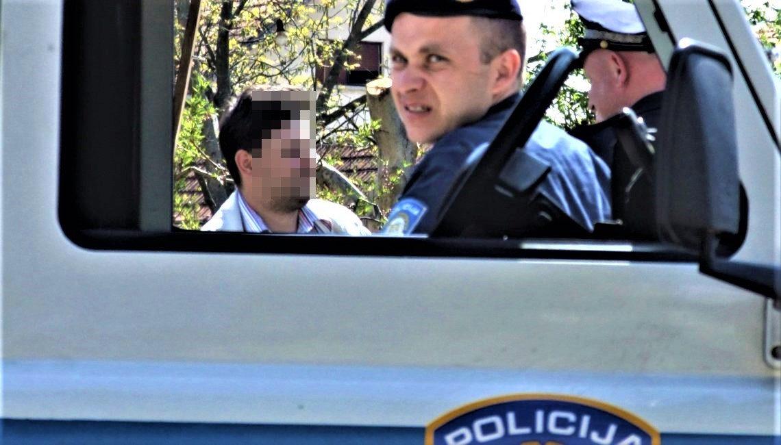 Policija privodi čovjeka koji se nije odazvao na poziv suda