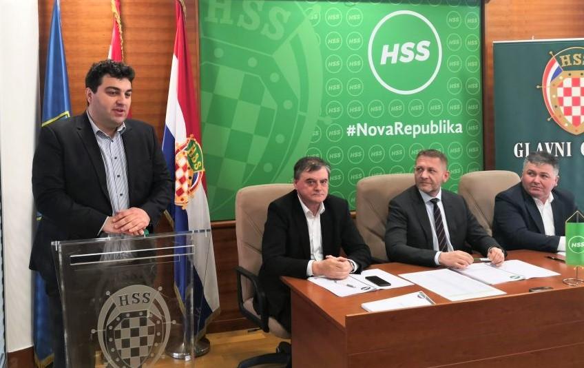 Gradonačelnik Križevaca Mario Rajn prvi put na glavom odboru HSS-a