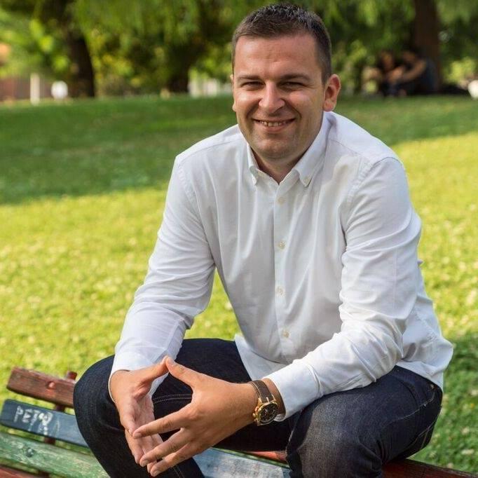 Dario Hrebak, gradonačelnik Bjelovara i predsjednik HSLS-a
