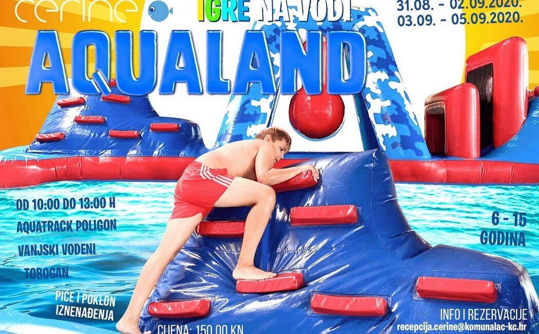 Igre na vodi, bazeni cerine Koprivnica