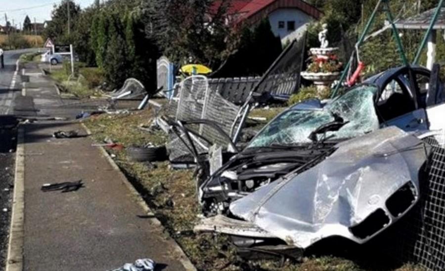 Teška prometna nesreća: bmw izletio s ceste, petero mladih teško ozlijeđeno