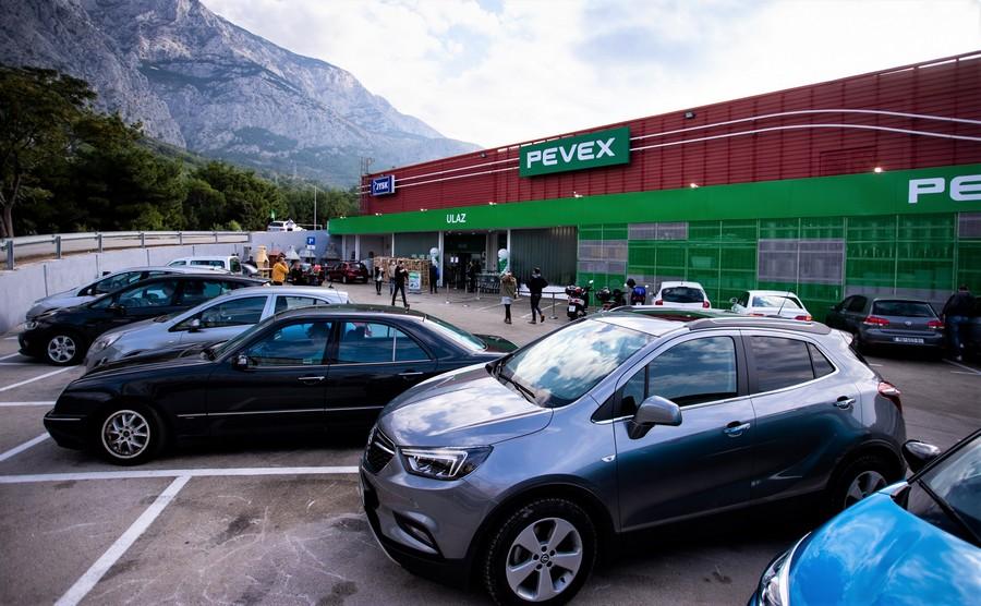 Novi Pevex centar u Makarskoj