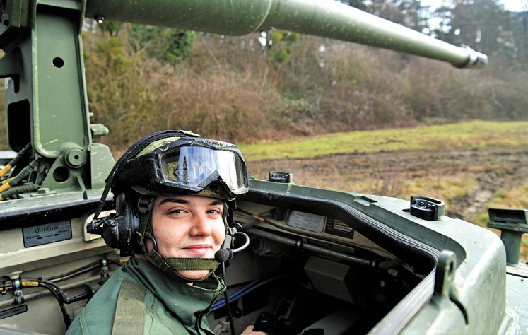 Maja Baričević, Panzer haubica 2000