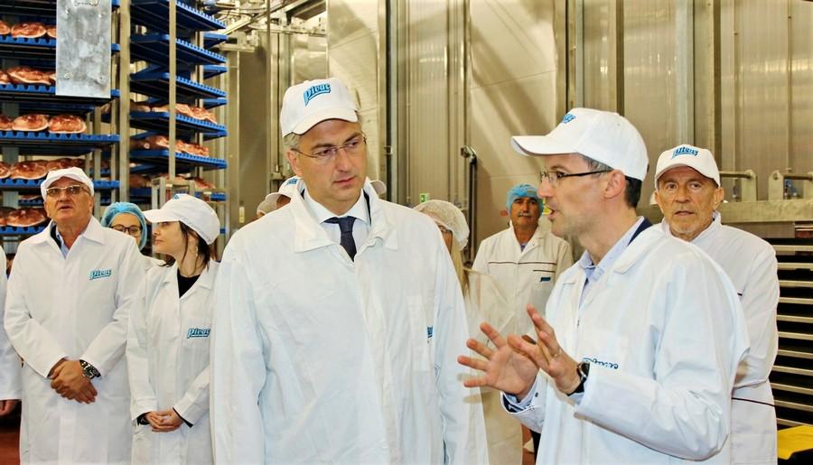 Pivac kupuje dionice Podravke, premijer Andrej Plenković u posjetu Pivcu